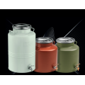 COLORED CONTANERS WITH AIRTIGHT SAFETY LID 15 - 20 - 25 LTR